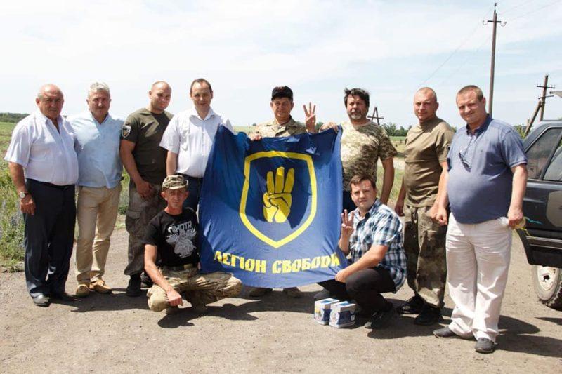Руслан Марцінків в зоні проведення ООС передав бійцям гуманітарну допомогу (ФОТО)
