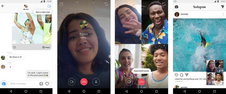 Відтепер в Instagram можна робити відеодзвінки