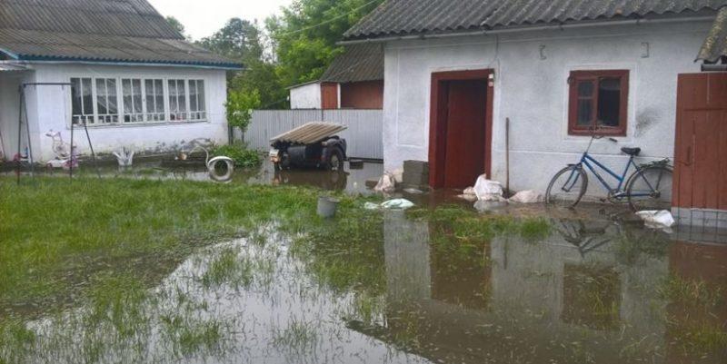 Прикарпатські рятувальники відкачали воду з підтоплених будівель (ФОТО)