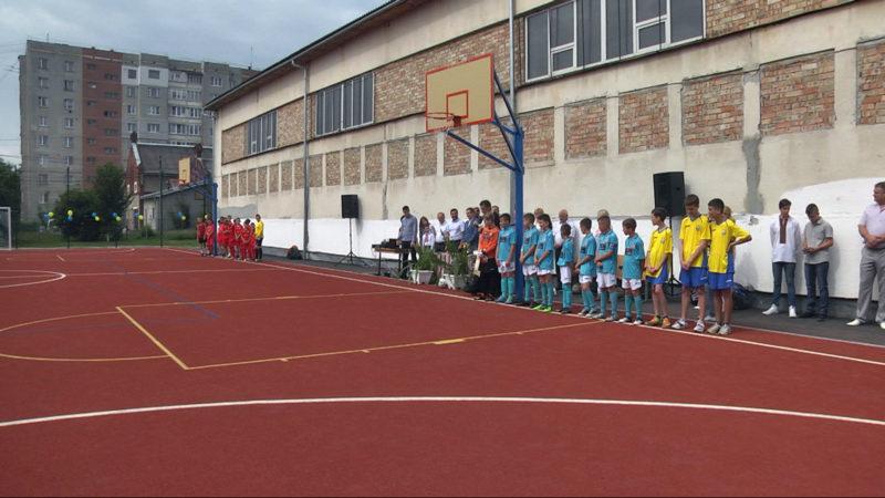 У Коломиї відкрили спортивний майданчик за майже 1,3 мільйона гривень (ВІДЕО)