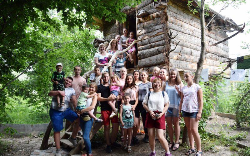 Франківські студенти влаштували благодійну поїздку для вихованців Містечка Милосердя Святого Миколая