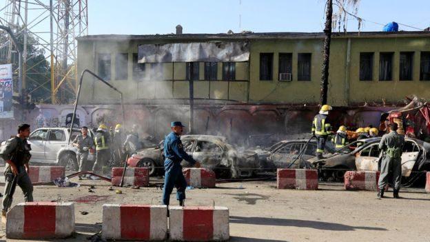 """""""Ісламська держава"""" влаштувала теракт в Афганістані: 19 загиблих"""