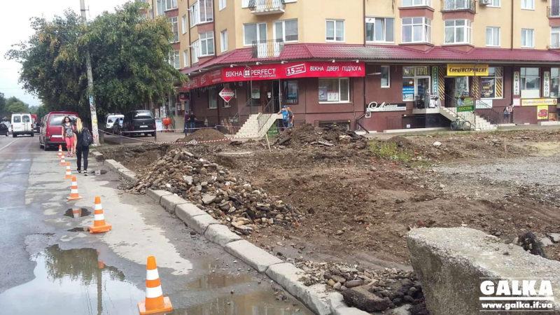 У місті активізувалися роботи по з'єднанню Південного та Північного бульварів (ФОТОФАКТ)