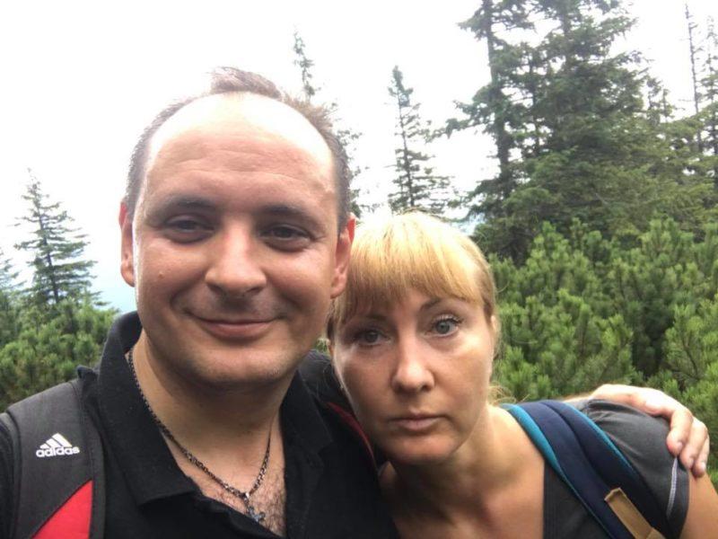 """""""Хомяк наш!"""": як Марцінків з дружиною карпатську гору підкорив (ФОТО)"""