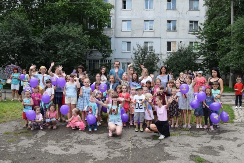 Попри негоду на Стуса відгуляли свято української родини (ФОТО)