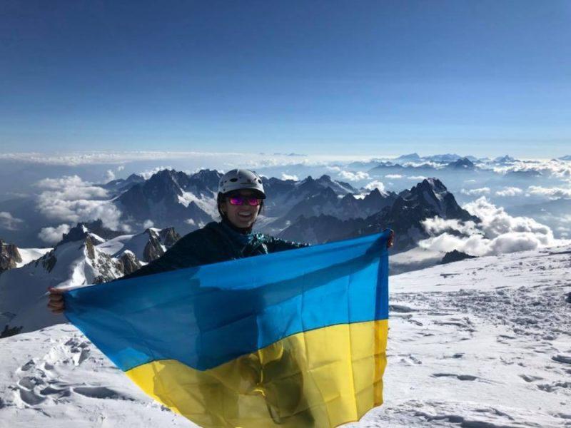 Франківка підкорила найвищу гору Європи (ФОТО)