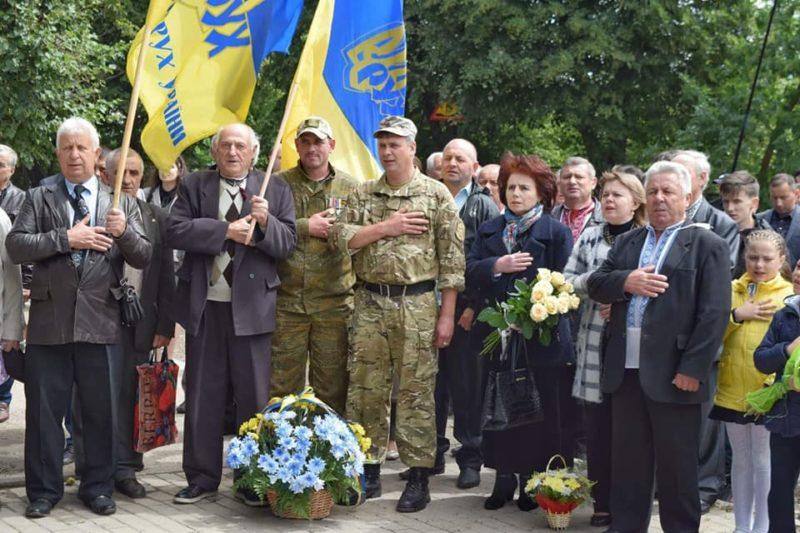 У Франківську пам'ятним віче вшанували Романа Шухевича (ФОТО)