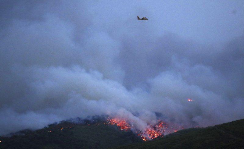 Масштабні пожежі у Греції: щонайменше 20 загиблих, близько 70 постраждалих (ФОТО)