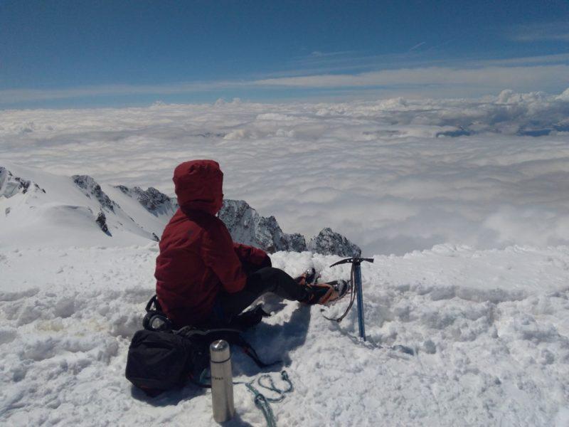 Прикарпатець підкорив найвищу вершину Західної Європи – Монблан (ФОТО)