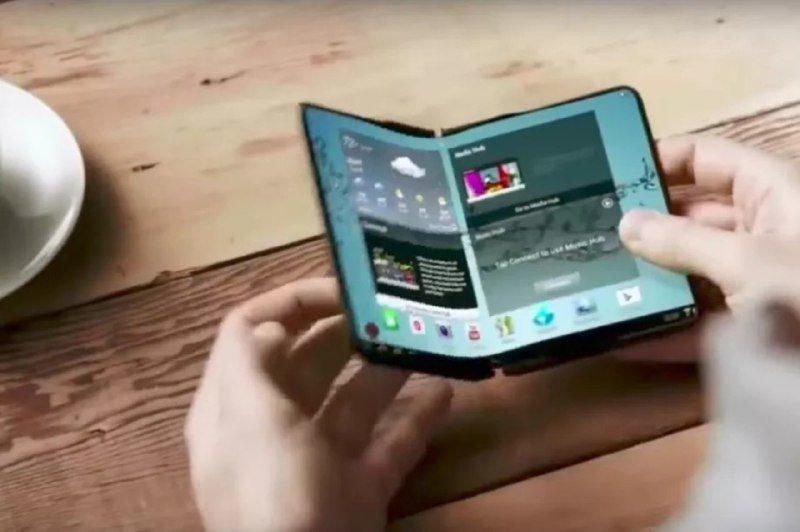 Samsung випустить смартфон, що може згинатися
