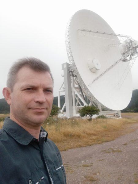 Франківський науковець відвідав астрономічну обсерваторію в Італії (ФОТО)