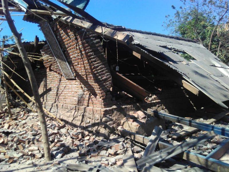 В Індонезії через сильний землетрус загинули 10 людей (ФОТО)