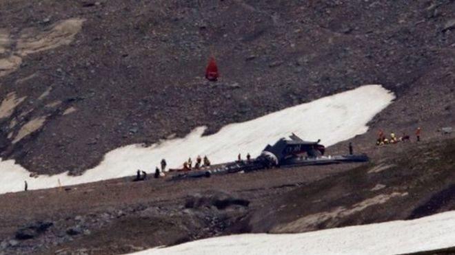 Авіакатастрофа у Швейцарії: 20 людей загинули