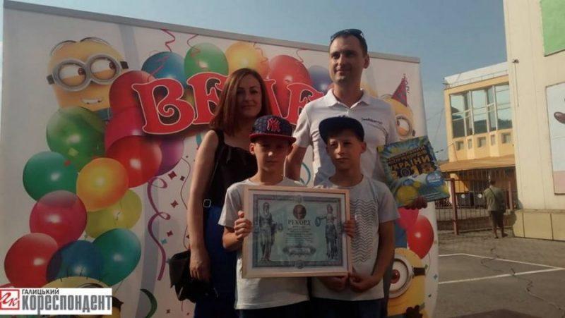 Франківських близнюків зареєстрували до Національного реєстру рекордів (ФОТО)