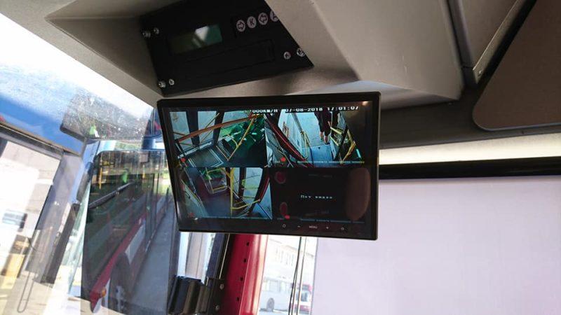 У автобусах на 27 маршруті ставлять камери спостереження (ФОТО)