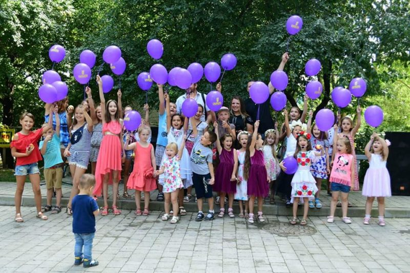 На Галицькій, Бандери та Нацгвардії влаштували свята для дітей (ФОТО)