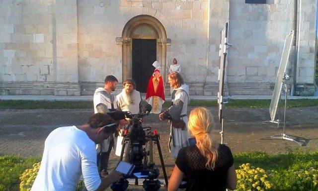 На теренах Давнього Галича зняли епізоди до бойовика «Король Данило»