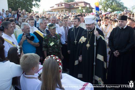 На Прикарпаття прибув Патріарх Святослав (ФОТО)