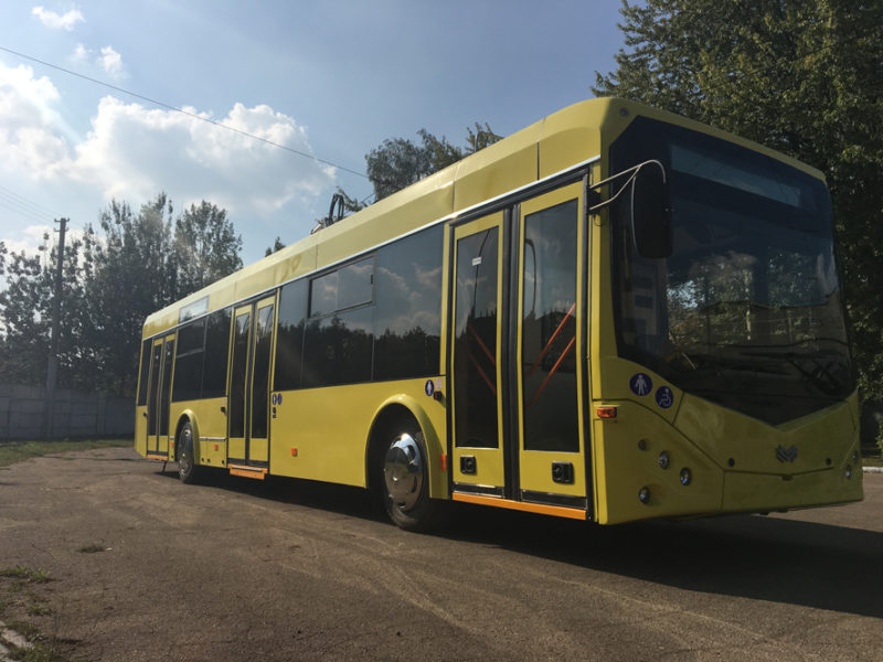 Франківськ підписав договір на придбання 29-ти нових тролейбусів (ФОТО)
