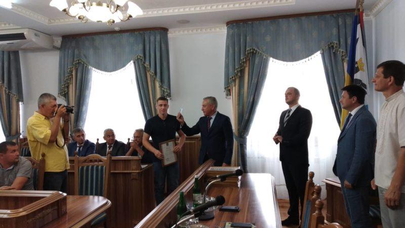 У Франківську нагородили найкращих спортсменів і тренерів області (ФОТО)