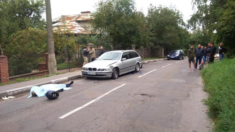У Калуші сталася смертельна ДТП (ФОТО)