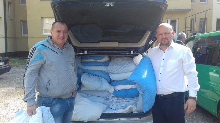 Франківський обласний госпіталь ветеранів війни отримав міжнародну допомогу (ФОТО)