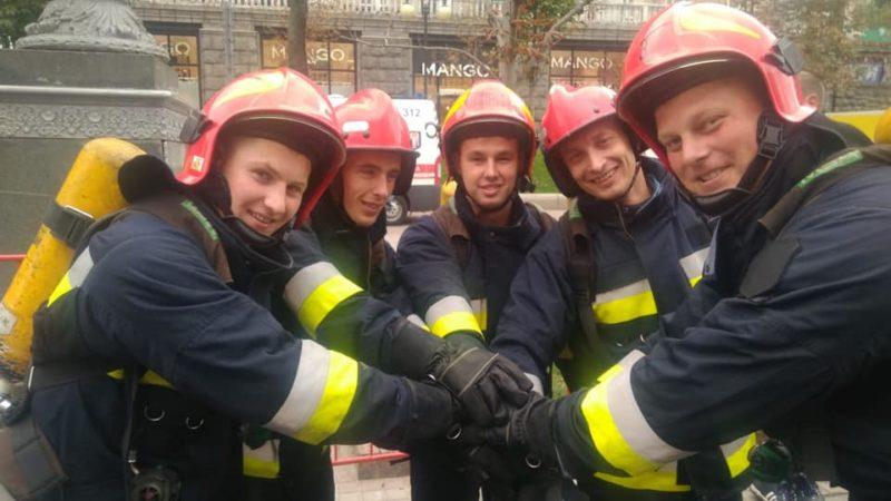 Прикарпатські рятувальники здобули 13-те місце на Міжнародних змаганнях «Найсильніший пожежний-рятувальник» (ФОТО)
