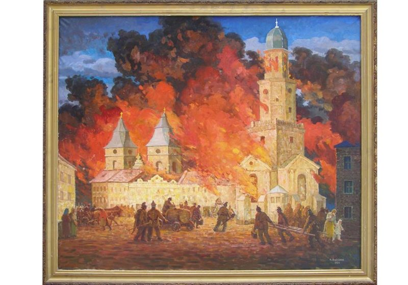 """150 років тому в Станіславові сталася """"Мармулядова пожежа"""" та з'явилась перша регулярна пожежна служба"""