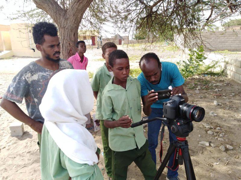 Режисер зі Судану вчитиме франківську молодь знімати правозахисне кіно