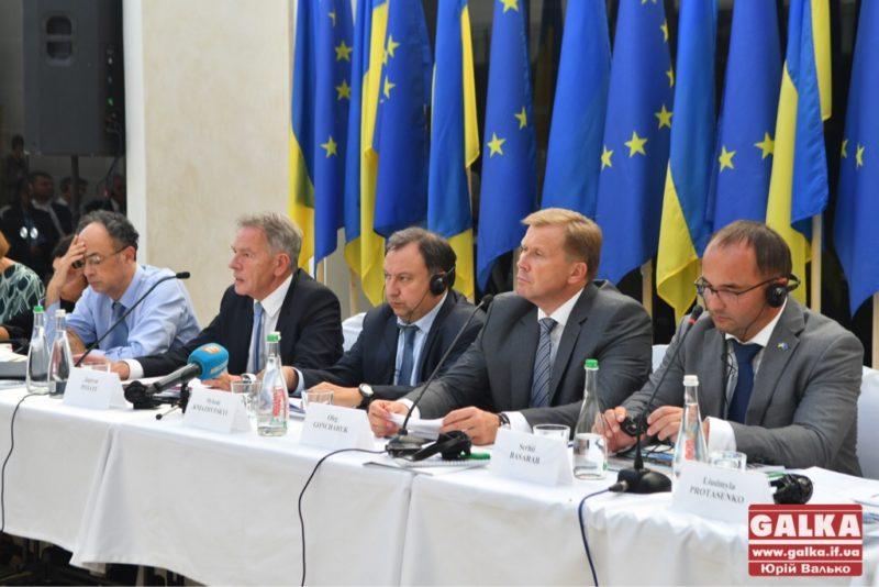У Франківськ завітав комітет асоціації між Україною та ЄС (ФОТО)