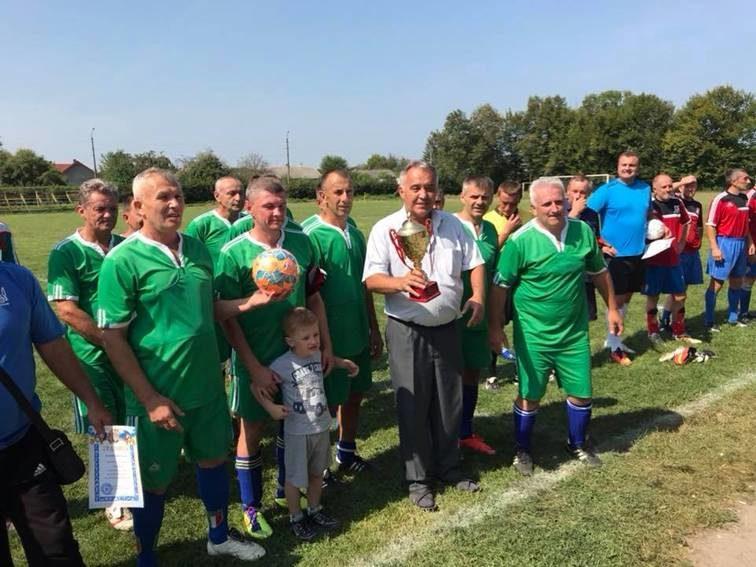 На Коломийщині відбувся ветеранський турнір з футболу присвячений пам'яті Мирослава Назарука (ФОТО)