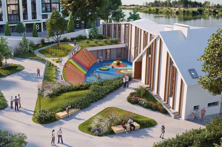 """""""Знання, освіта — це сила, яка вирощує успішність"""": під Києвом відкрили унікальну школу (ФОТО)"""