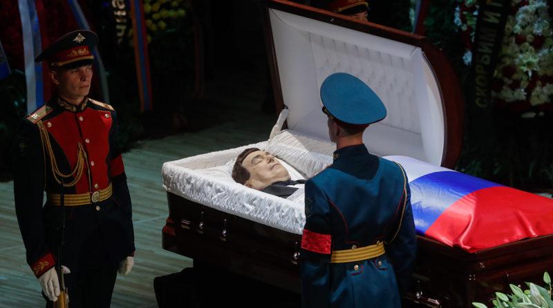 Кобзона та ватажка сепаратистів Захарченка поховали в один день (ФОТОРЕПОРТАЖ)