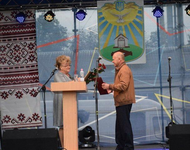 Очільницю села Єзупіль відзначили грамотою Верховної Ради (ФОТО)