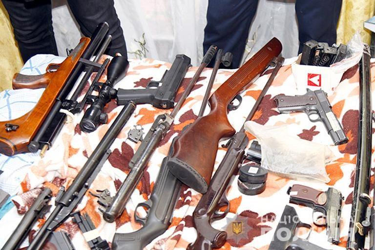 Франківці з початку місяця здали 27 одиниць зброї