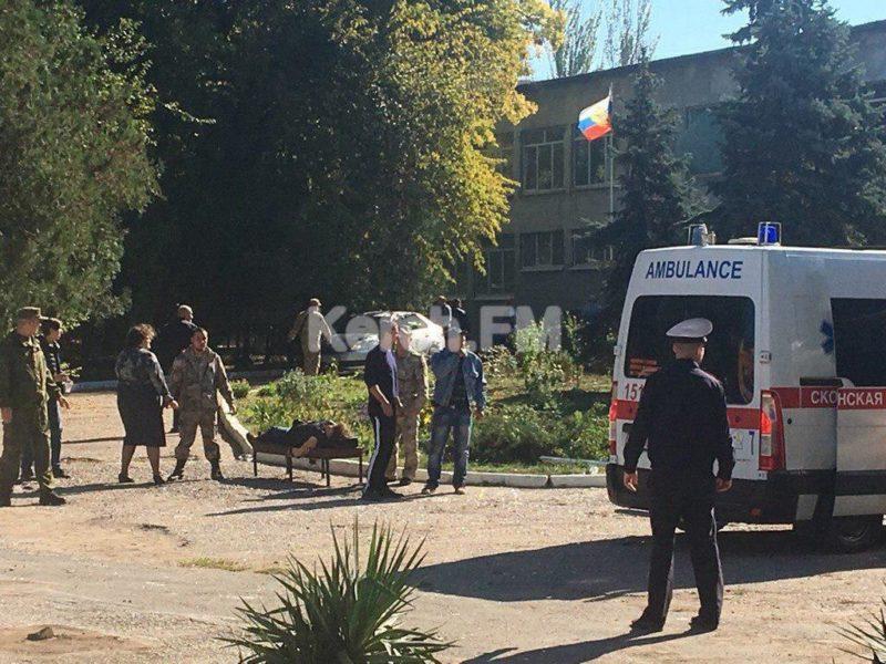 У Криму вибух у навчальному закладі – 18 загиблих, 50 постраждалих (ФОТО, ОНОВЛЕНО)
