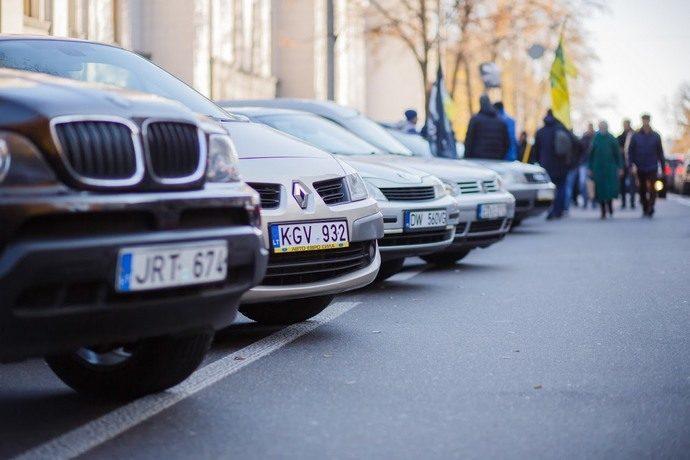 Нардепи посилили покарання за автомобілі на єврономерах