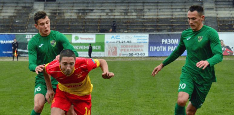 Два гравці «Прикарпаття» у символічній збірній півріччя Першої ліги