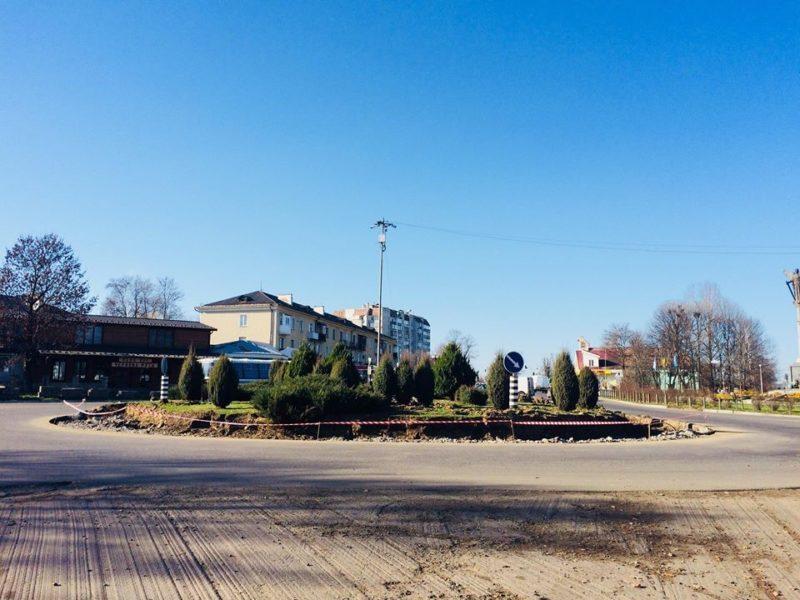 В Долині розпочали ремонт головного транспортного кільця (ФОТОФАКТ)