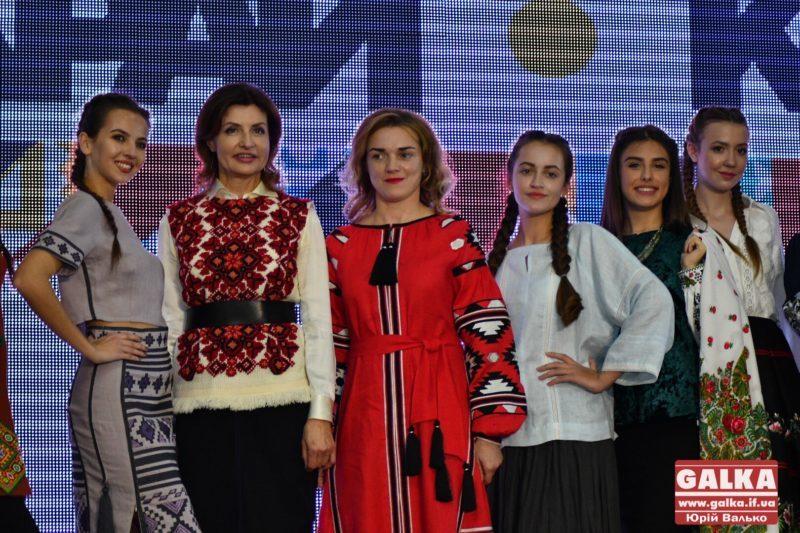 Перша леді України оцінила фестиваль етномоди в Івано-Франківську (ФОТО)