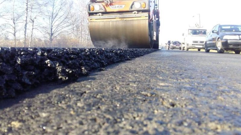 На Надвірнянщині триває ремонт дороги національного значення (ФОТО)