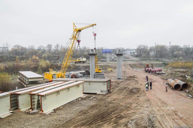 Марцінків каже, що проекту організації з'їзду з нового моста на Пасічну ще немає
