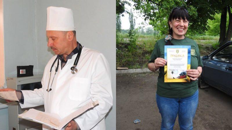 Медиків-добровольців з Прикарпаття нагородили відзнакою Президента України