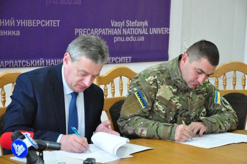Прикарпатський університет проводитиме реабілітацію воїнів, що повернулися зі Сходу України (ФОТО)