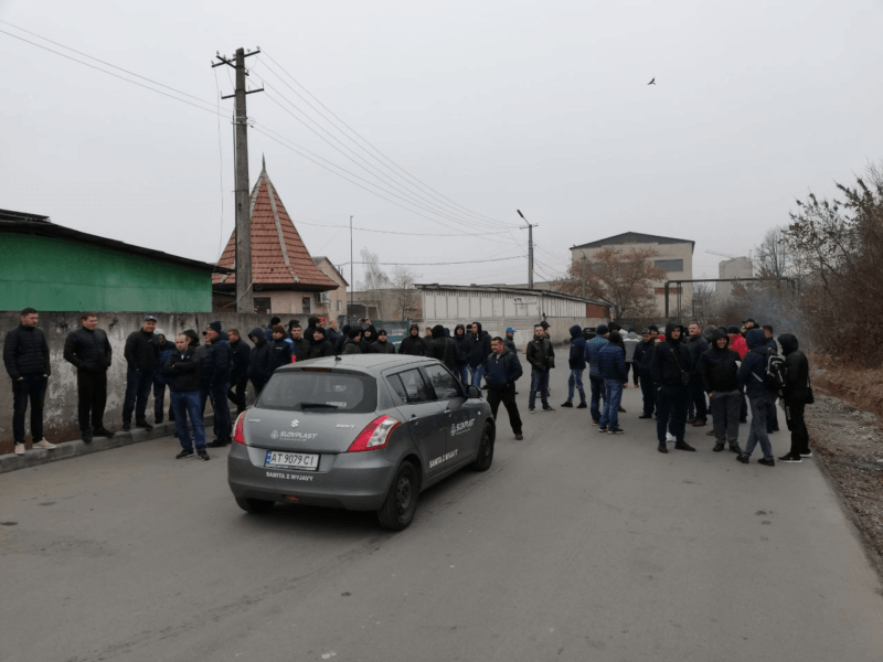 У Франківську заблокували роботу митниці (ФОТОФАКТ, ОНОВЛЕНО)