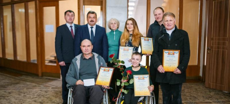 Спортсменів з інвалідністю нагородили в Івано-Франківську (ФОТО)