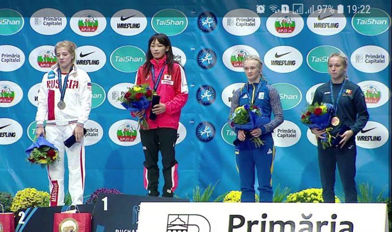 """Прикарпатська борчиня завоювала """"бронзу"""" на чемпіонаті світу (ФОТО)"""