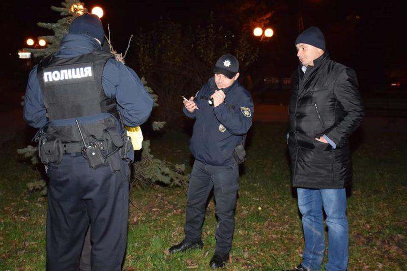 Марцінків розповів, як разом з патрульними оберігав нічний спокій міста (ФОТОРЕПОРТАЖ)