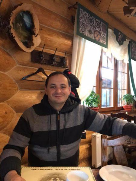 Свій день народження Руслан Марцінків зустрів у горах з дружиною (ФОТО)