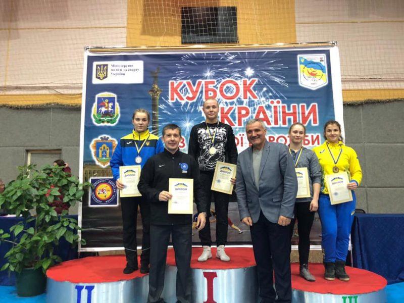 Прикарпатські борчині – чемпіонки кубку України (ФОТО)